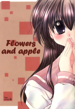 Hana To Ringo | Flowers and apple